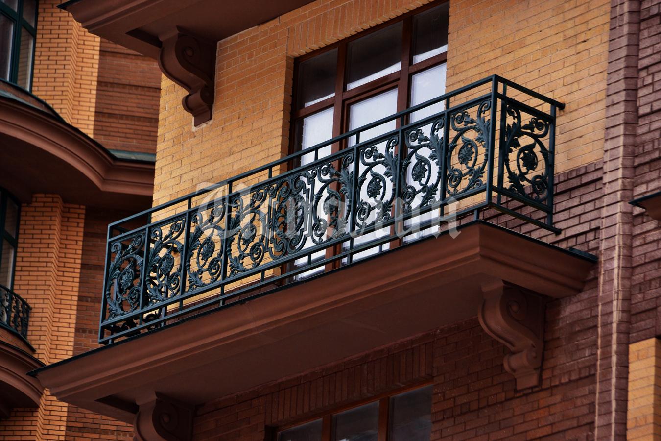 Кованые балконы в санкт-петербурге.